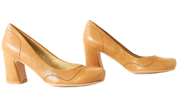 Audley Shoes in Cognac