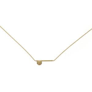 Geometric Hammer Necklace