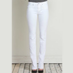 Henry and Belle Signature Straight White Jeans