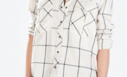 Windowpane Shirt by Zara