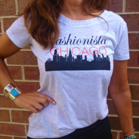 Fashionista Chicago t-shirt
