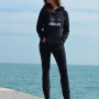 Fashionista Chicago Hoodie Full Length