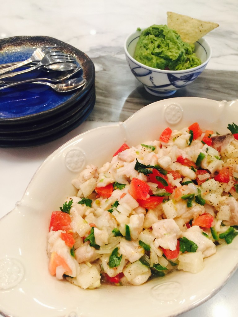 Red Snapper Ceviche Just In Time For Cinco De Mayo