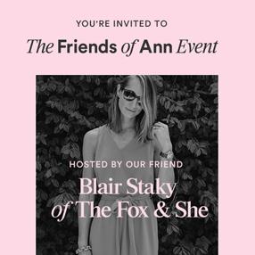 Ann Taylor Event