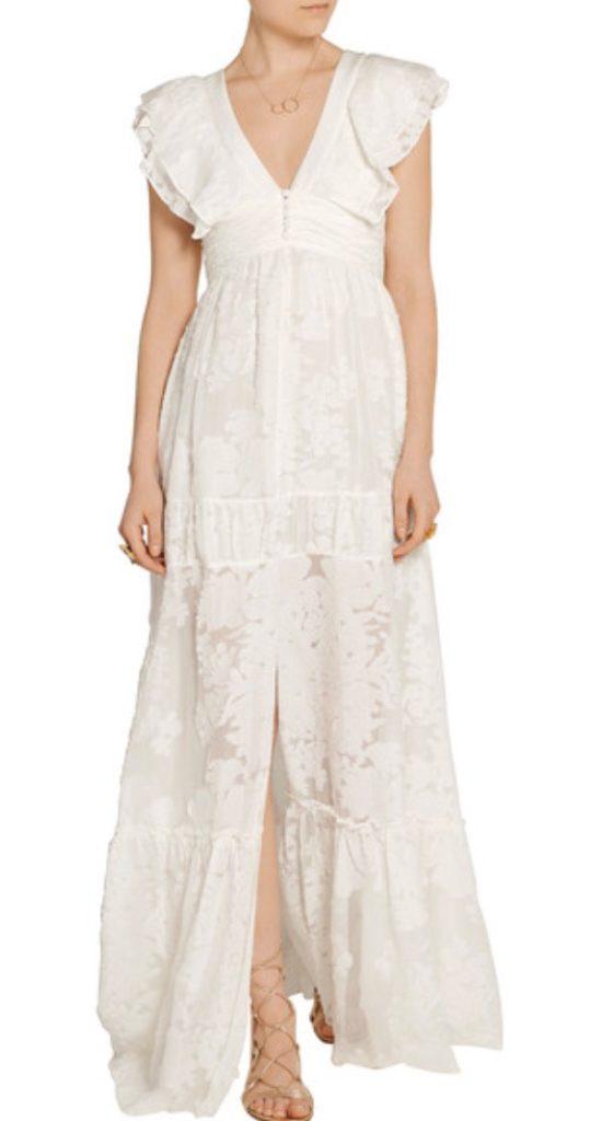 bohemian-white dress