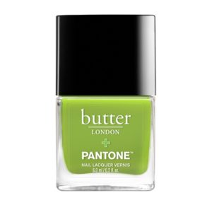 butter nail polish-greenery
