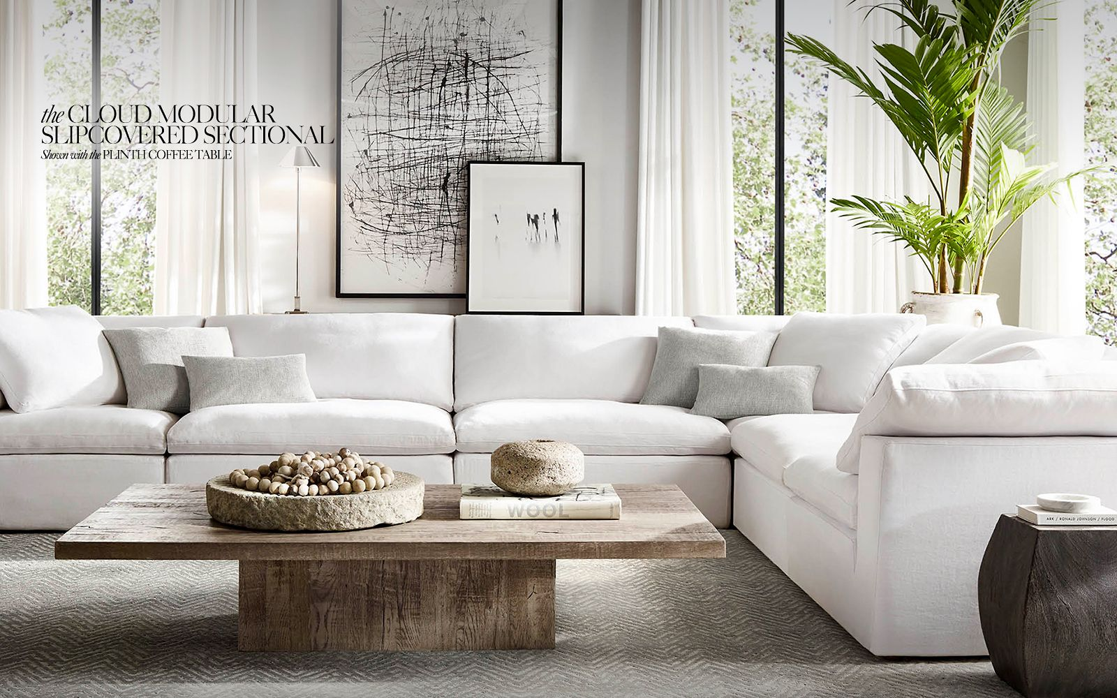 Restoration Hardware Sofa - Fashionista Chicago, Chicago Fashion Blog