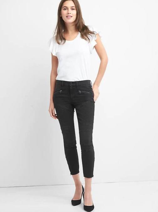 Gap Moto Jeans