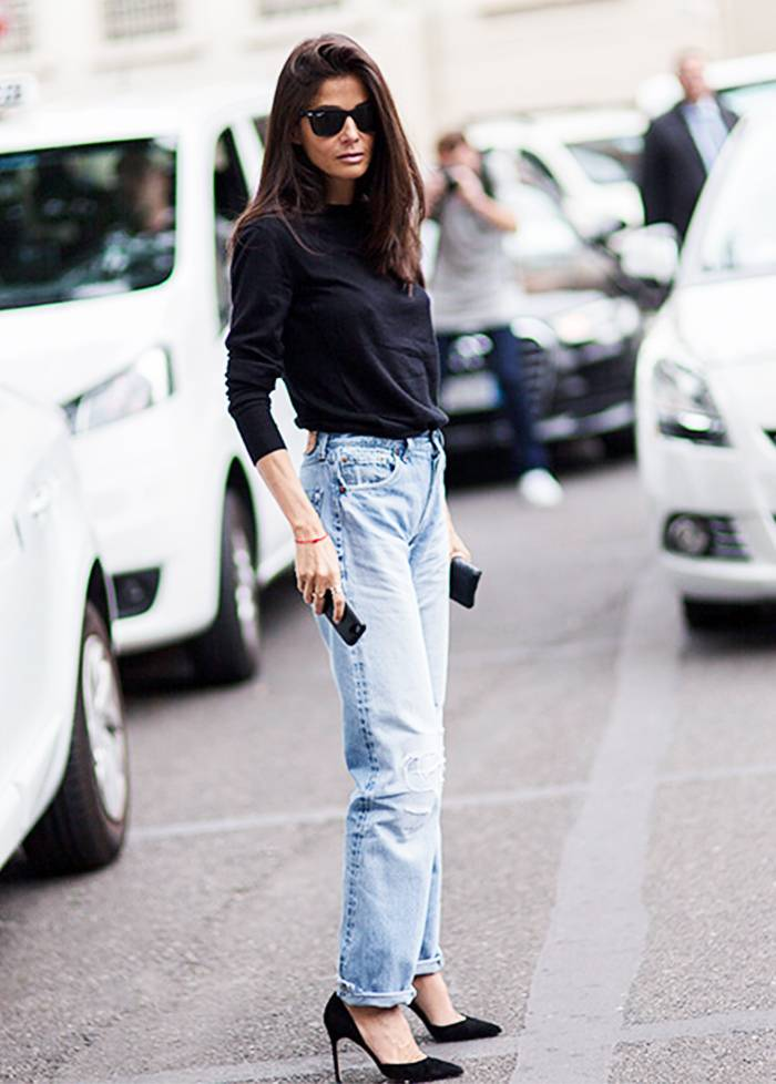 5 Stylish Ways To Wear Denim This Autumn- hint.. Not So Skinny