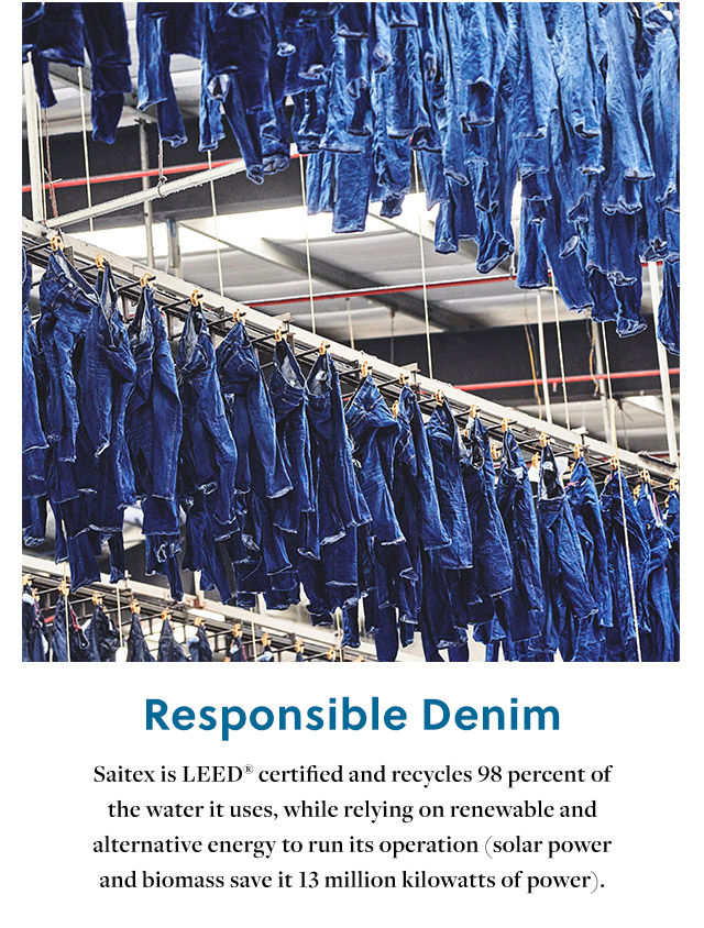 JCrew Introduces Fair Trade Certified Denim