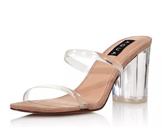Aqua Sandals - Fashionista Chicago